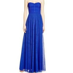 JS Collections Royal Blue Tool Gown
